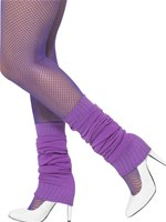 Adult Purple Leg Warmers