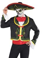 Adult Senor Day of the Dead Costume [844402-55]