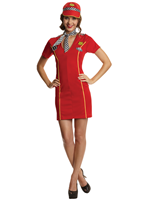 Adult Racing Girl Costume