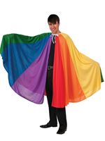Adult Rainbow Cape [X74250]
