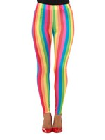 Adult Rainbow Clown Leggings [47354]