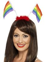 Adult Rainbow Flag Boppers [43515]