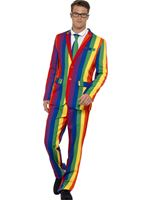 Adult Rainbow Stand Out Suit