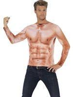 Adult Realistic Muscle Top
