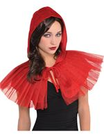 Adult Red Riding Hood Capelet [845814-55]