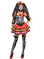 Adult Day of the Dead Senorita Costume [844569-55]