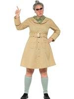 Adult Roald Dahl Miss Trunchbull Costume [41537]