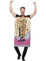 Adult Roald Dahl Winning Wonka Bar Costume [61024]