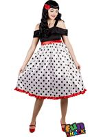 Adult Rockabilly Costume