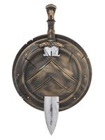 Adult Roman Spartan Shield and Sword
