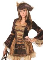 Adult Sassy Victorian Pirate Costume