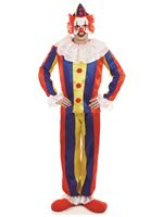 Adult Scary Circus Clown Costume