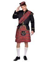 Adult Scottish Man Costume