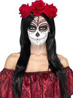 Adult Day of the Dead Headband [27744]