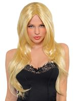 Adult Blonde Hot Honey Wig