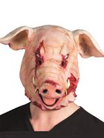 Adult Severed Pig Head Mask