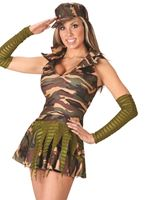Adult Sexy Army Brat Costume
