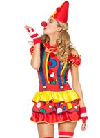 Adult Sexy Bubbles the Clown Costume [4964]
