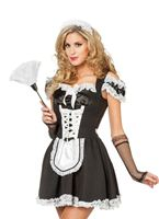 Adult Sexy Maid Costume [4513]