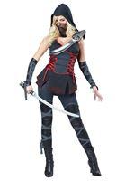 Adult Sexy Ninja Costume [01357]