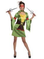 Adult Sexy Raphael Ninja Turtle Costume [887254]