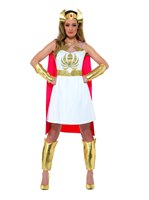 Adult She-Ra Glitter Print Costume