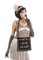 Adult Silent Film Flapper Girl Costume