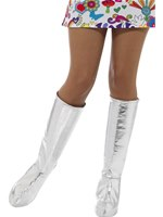 Adult Silver GoGo Boot Covers [43068]
