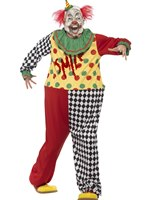 Adult Sinister Clown Costume