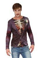 Adult Zombie Groom Print T-Shirt