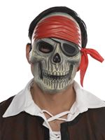 Adult Skull Pirate Mask