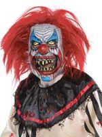 Adult Slashed Clown Latex Mask [848707-55]