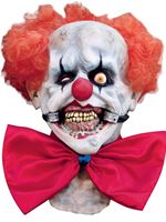 Adult Deluxe Smiley Clown Latex Mask [25095]