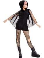 Adult Spider Zip Up Jumper Dress Costume
