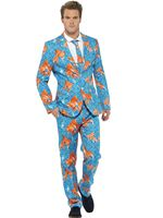 Adult Stand Out Goldfish Suit [43530]