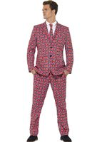 Adult Stand Out Union Jack Suit [43520]