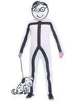 Adult Stick Man Costume [9905096]