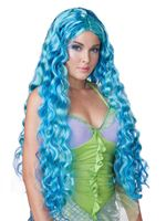 Adult Sea Siren Mermaid Wig