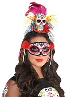 Adult Sugar Skull Headband [846148-55]