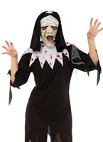 Adult Zombie Nun Costume - NO DRESS INCLUDED NOT SELLING