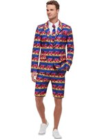 Adult Sunset Flamingo Suit [51037]