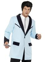 Adult Teddy Boy Blue Jacket