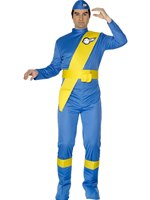 Adult Thunderbirds Virgil Jumpsuit [28919]