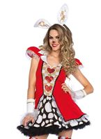Adult Tick Tock White Rabbit Costume