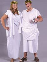 Adult Unisex Plus Size Toga Costume [AC863]