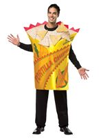 Adult Deluxe Tortilla Chips Costume