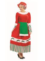Adult Traditional Mrs Claus Costume [FS4222]
