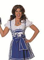 Adult Tyrolean Blue Dress Costume [4176A]