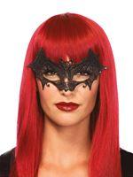 Adult Deluxe Venetian Vampire Bat Mask [3730]