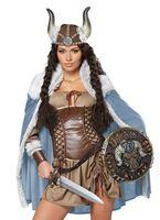 Adult Viking Vixen Costume [01336]